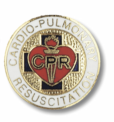 Cardio Pulmonary Resuscitation Pin