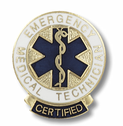 Certified Emergency Medical Technician Pin
