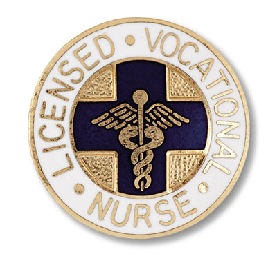 Licensed Vocational Nurse Pin (Cal. & Tex Only)
