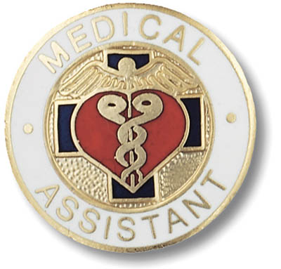 Medical Assistant Pin