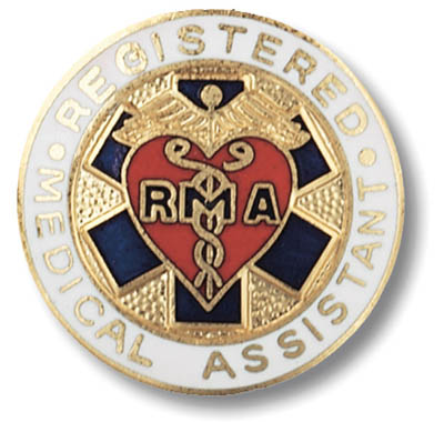 Registered Medical Assistant Pin