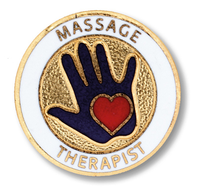 Massage Therapist Pin