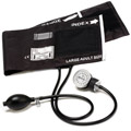 Large Adult Cotton Cuff Aneroid Sphygmomanometer