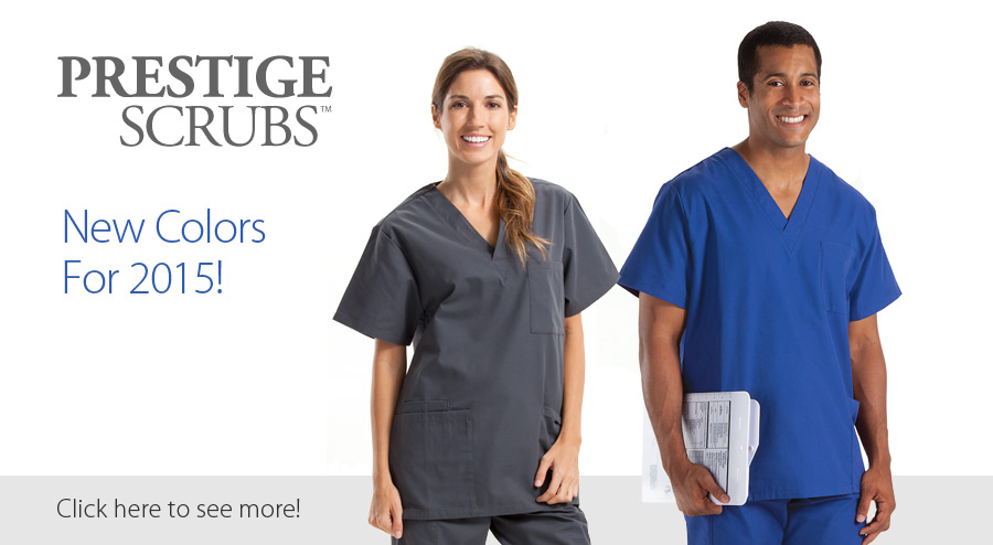 Prestige Scrubs in New Colors!