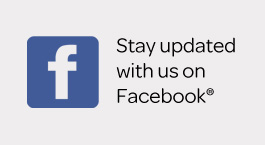 Stay updated with us on Facebook