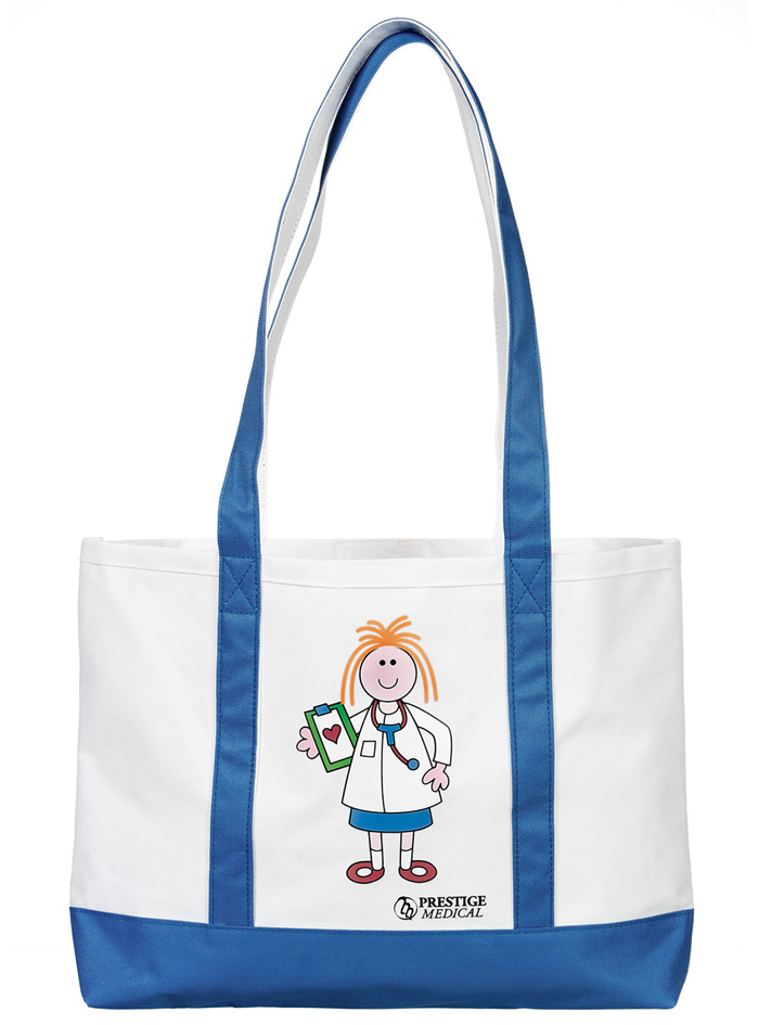 large canvas tote bag in dotty design ebay