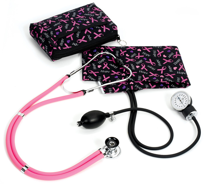 how to take blood pressure with cuff and stethoscope